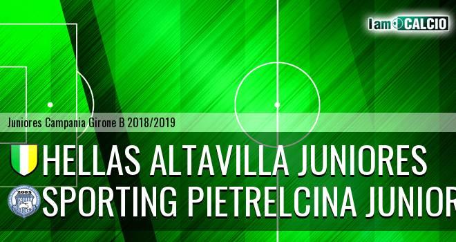 Hellas Altavilla Juniores - Sporting Pietrelcina Juniores