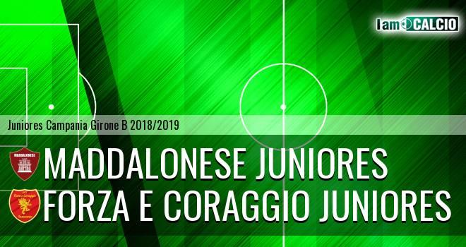 Maddalonese Juniores - Forza e Coraggio Juniores
