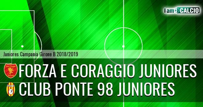 Forza e Coraggio Juniores - Ponte '98 Juniores