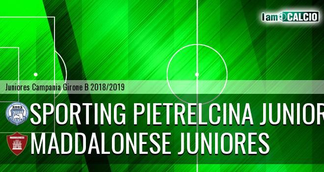 Sporting Pietrelcina Juniores - Maddalonese Juniores