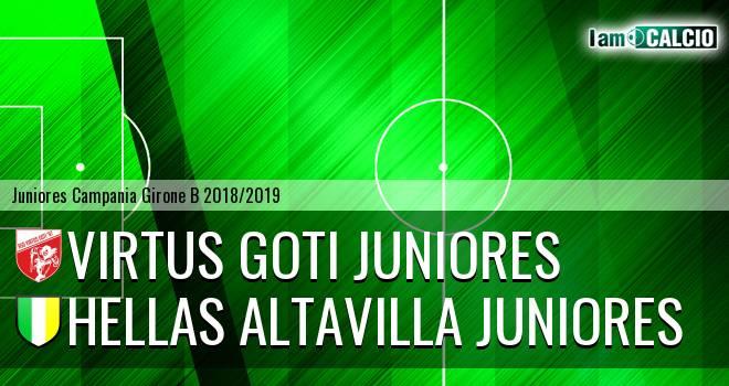 Virtus Goti Juniores - Hellas Altavilla Juniores