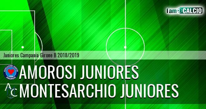 Amorosi Juniores - Montesarchio Juniores