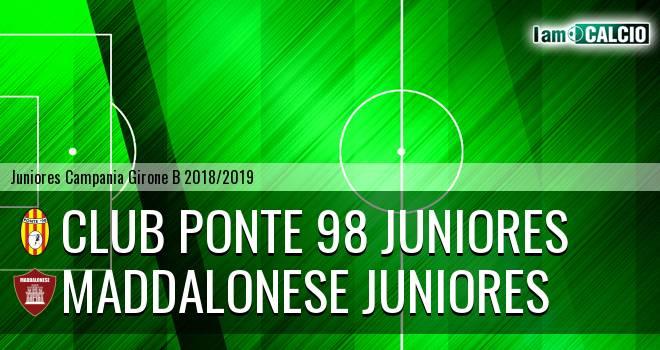 Club Ponte 98 Juniores - Maddalonese Juniores