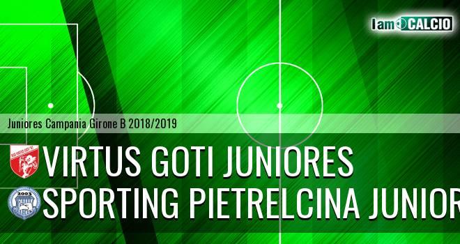 Virtus Goti Juniores - Sporting Pietrelcina Juniores