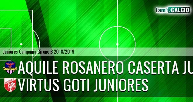Aquile Rosanero Caserta Juniores - Virtus Goti Juniores