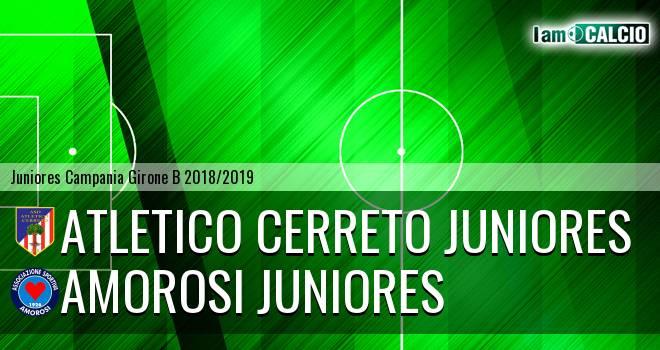 Atletico Cerreto Juniores - Amorosi Juniores