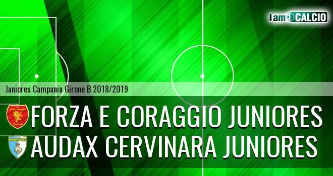 Forza e Coraggio Juniores - Audax Cervinara Juniores
