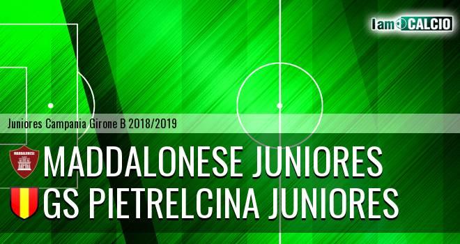 Maddalonese Juniores - GS Pietrelcina Juniores