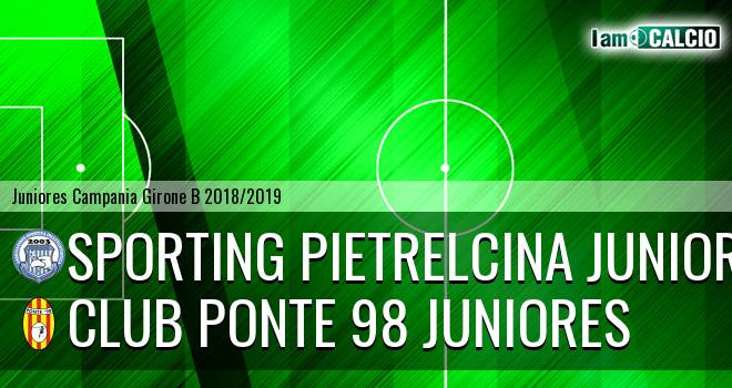 Sporting Pietrelcina Juniores - Club Ponte 98 Juniores