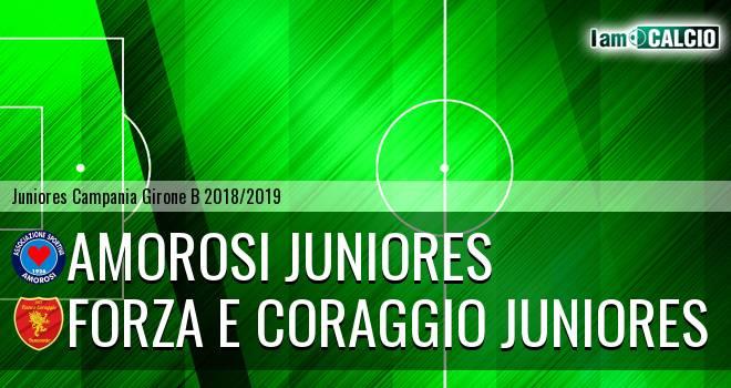 Amorosi Juniores - Forza e Coraggio Juniores