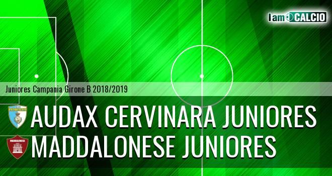 Audax Cervinara Juniores - Maddalonese Juniores