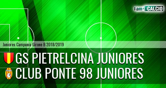 GS Pietrelcina Juniores - Club Ponte 98 Juniores