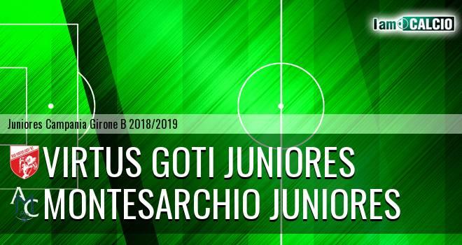 Virtus Goti Juniores - Montesarchio Juniores