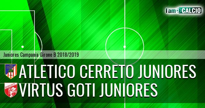 Atletico Cerreto Juniores - Virtus Goti Juniores