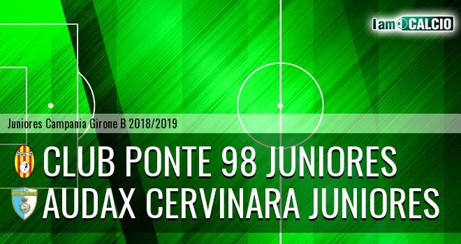 Ponte '98 Juniores - Audax Cervinara Juniores