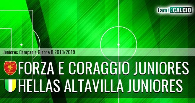 Forza e Coraggio Juniores - Hellas Altavilla Juniores
