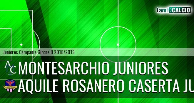 Montesarchio Juniores - Aquile Rosanero Caserta Juniores