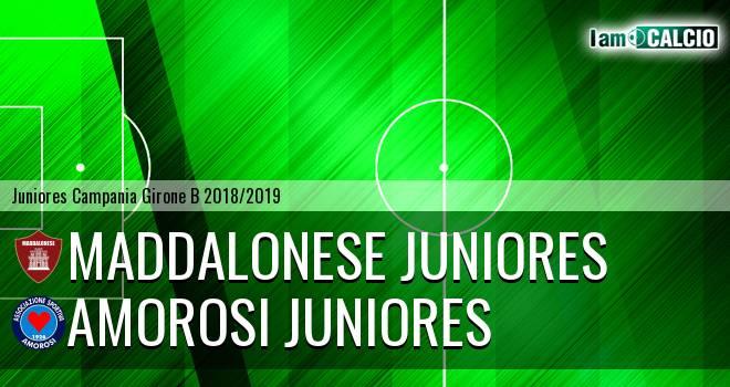 Maddalonese Juniores - Amorosi Juniores