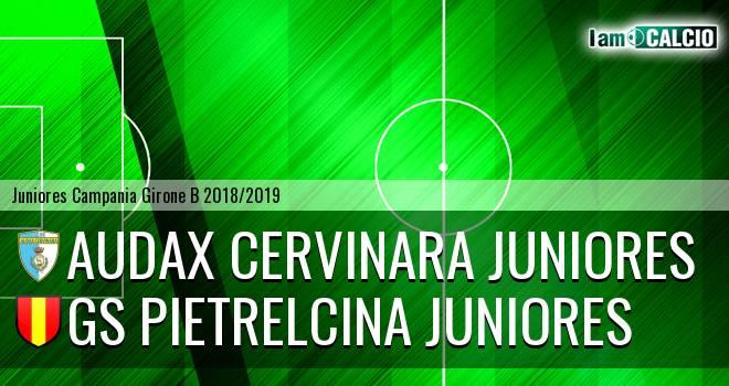 Audax Cervinara Juniores - GS Pietrelcina Juniores
