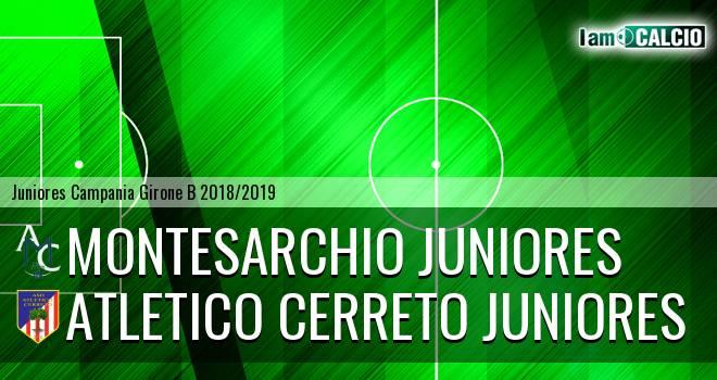 Montesarchio Juniores - Atletico Cerreto Juniores