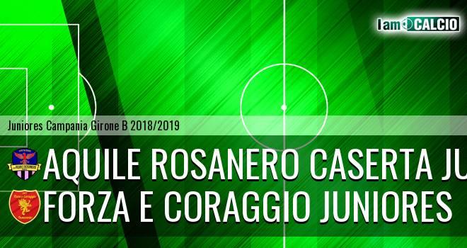Aquile Rosanero Caserta Juniores - Forza e Coraggio Juniores