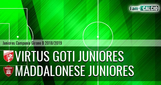 Virtus Goti Juniores - Maddalonese Juniores