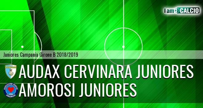 Audax Cervinara Juniores - Amorosi Juniores