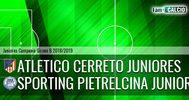 Atletico Cerreto Juniores - Sporting Pietrelcina Juniores