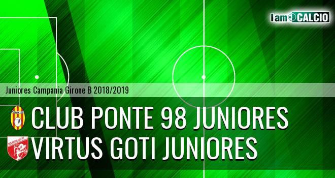 Club Ponte 98 Juniores - Virtus Goti Juniores