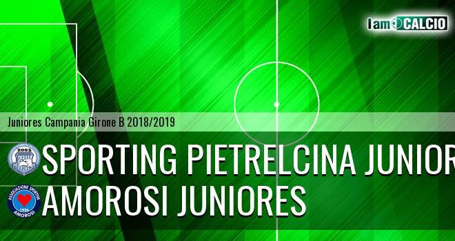 Sporting Pietrelcina Juniores - Amorosi Juniores
