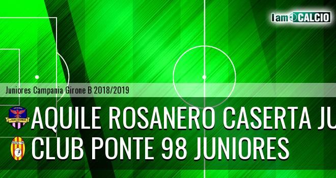Aquile Rosanero Caserta Juniores - Ponte '98 Juniores
