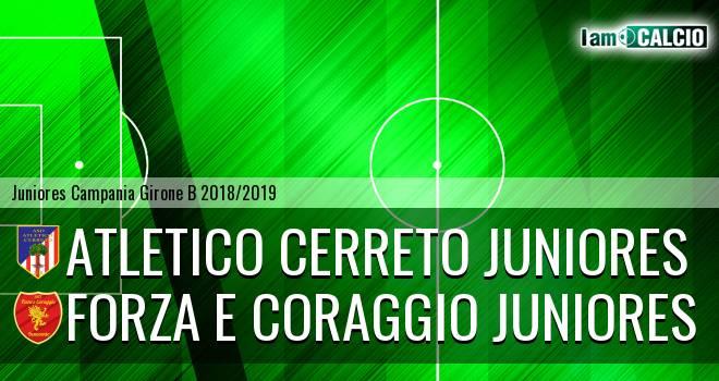 Atletico Cerreto Juniores - Forza e Coraggio Juniores