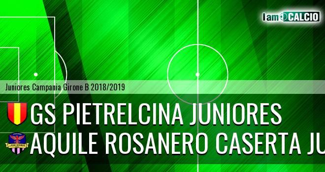 GS Pietrelcina Juniores - Aquile Rosanero Caserta Juniores