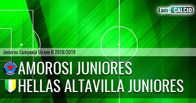 Amorosi Juniores - Hellas Altavilla Juniores