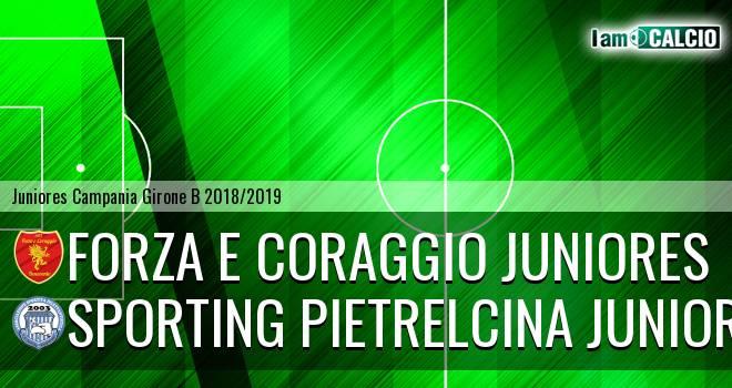 Forza e Coraggio Juniores - Sporting Pietrelcina Juniores