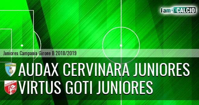 Audax Cervinara Juniores - Virtus Goti Juniores