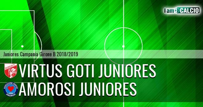 Virtus Goti Juniores - Amorosi Juniores