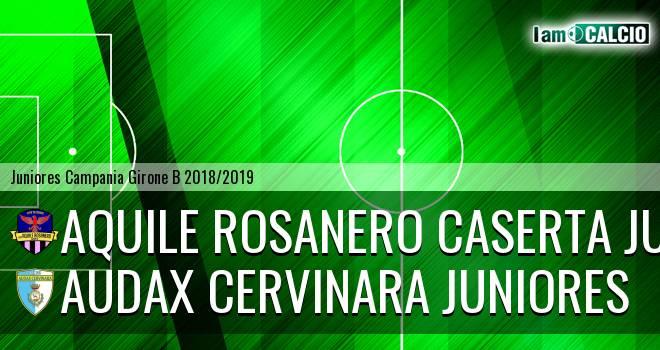 Aquile Rosanero Caserta Juniores - Audax Cervinara Juniores