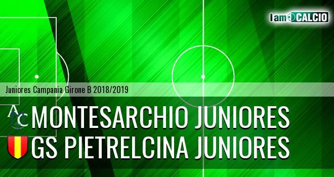 Montesarchio Juniores - GS Pietrelcina Juniores