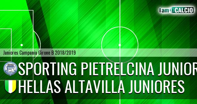 Sporting Pietrelcina Juniores - Hellas Altavilla Juniores