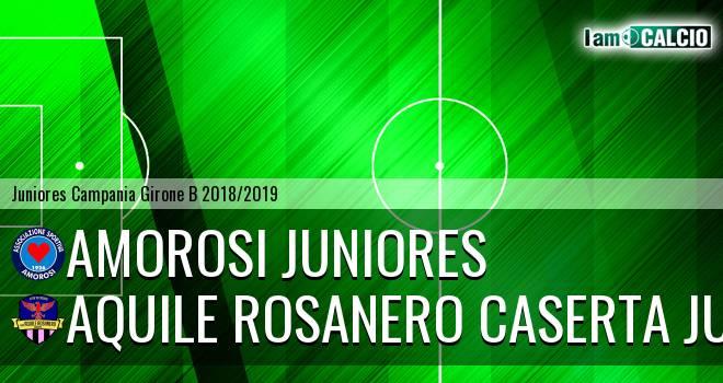 Amorosi Juniores - Aquile Rosanero Caserta Juniores
