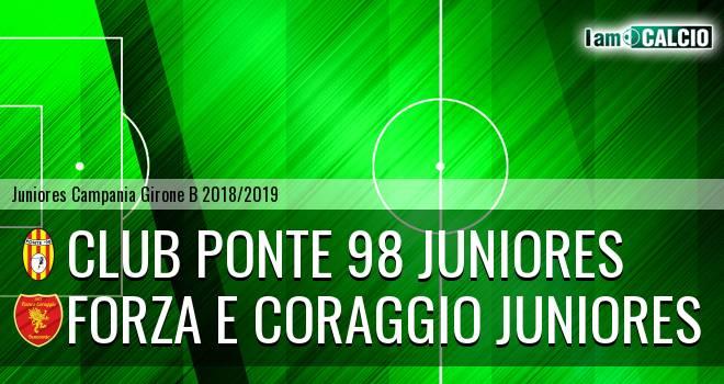 Club Ponte 98 Juniores - Forza e Coraggio Juniores