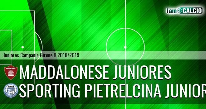 Maddalonese Juniores - Sporting Pietrelcina Juniores