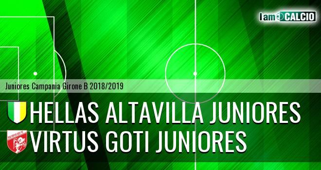 Hellas Altavilla Juniores - Virtus Goti Juniores