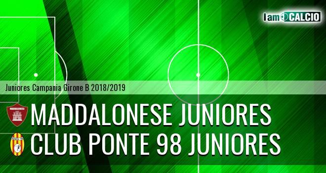 Maddalonese Juniores - Club Ponte 98 Juniores