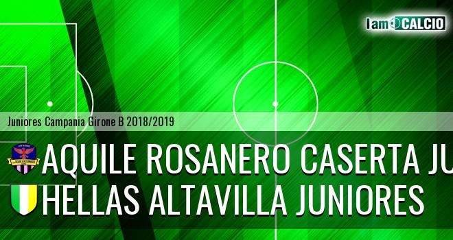 Aquile Rosanero Caserta Juniores - Hellas Altavilla Juniores