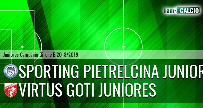 Sporting Pietrelcina Juniores - Virtus Goti Juniores