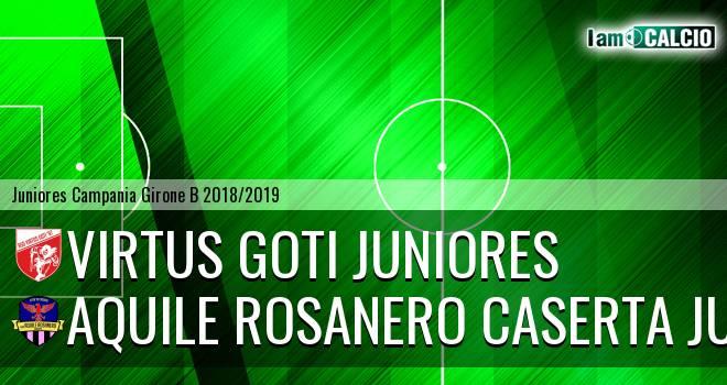 Virtus Goti Juniores - Aquile Rosanero Caserta Juniores