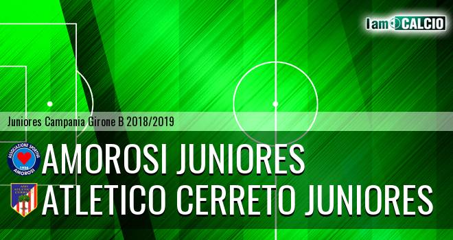 Amorosi Juniores - Atletico Cerreto Juniores