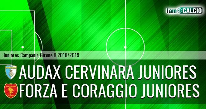 Audax Cervinara Juniores - Forza e Coraggio Juniores